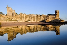 St Andrews Landmarks / The landmarks that you instantly recognise as being in St Andrews - including St Andrews Castle and St Andrews Cathedral