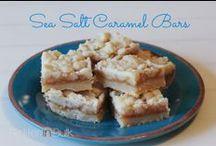 RECIPES Bars & Bark / Homemade bark & bars: chocolate, cheesecake, caramel and more!