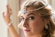 Luxury Headpieces by Cheryl King Couture for Kleinfeld Bridal / Some of the stunning couture headpieces handcrafted in the USA by Cheryl King Couture that are available at Kleinfeld Bridal