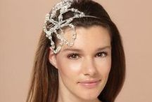 Luxury Headbands by Cheryl King Couture for Kleinfeld Bridal / Some of the stunning couture headbands handcrafted in the USA by Cheryl King Couture that are available at Kleinfeld Bridal