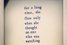 Poetic things...
