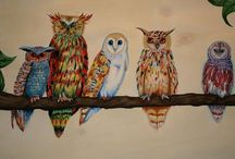 owl art / by Darlene Renno