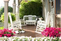 the veranda / by Darlene Renno