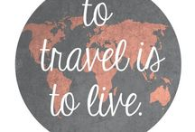 Around the World in 80 Pins / For inspiration and motivation to see all the corners of the world. Quotes to live by and places to see. / by Kristen Mankosa