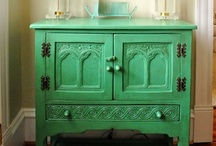 i love green / And turquoise