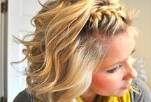 Trendy Hair Tips / Quick and easy tips for great hair styles you can do at home.