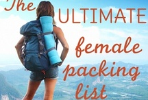 Travel Tips / Useful tips for packing, hostelling, sight seeing, and all those other things one needs to know while traveling. / by Kristen Mankosa