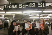 Readers in the Wild / To prepare for our second annual JVNLA Rides the Subway adventure, we are asking YOU to send us photos of you reading! Let us know by using the hashtag #readersinthewild and we'll make sure to add you to our board!