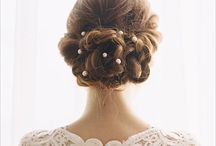 Bridal Do / Beautiful bridal hair for a beautiful wedding day / by Ashley Bates