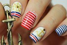 Mermaid and Nautical Nails