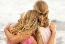 daughters / Parenting is a full time job that lasts a lifetime. Pinning advice, and inspiration as I round the corner with my daughter into the teen years. / by Michele B.