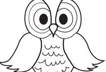 Easy Coloring Pages for Kids / Free printable coloring pages for kids. Fun coloring art projects for boys and girls. You can even print the coloring pictures and create your own coloring book. Have fun and add some color to these pages.