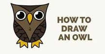YouTube Videos on Easy Drawing Tutorials and Ideas / Learn how to draw animals, flowers, trees, people, buildings, cars, cartoons, superheros, etc. Step by step drawing tutorials make drawing easy for kids and beginners. The drawing instructions and tips make learning to draw fun and fast.