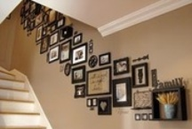 ❖ Wall Decor ❖ / Creating Displays with Photos, Mirrors, Artwork & more.  / by Camile Mick