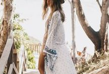 Ocean Boheme / We love the ocean boho inspired look