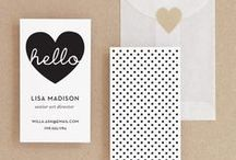 Design / Paper Goods / Invites, announcements, & other well-designed pretty things on paper. Inspirations & wishlist.