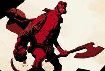 Hellboy/Mignola art