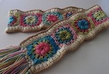 Crochet - Scarf, hats / by Mary Murray