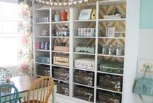 Craft / Scrapbooking Room / by Lindsay Hiller