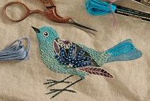 So Sew Crafty / Stitching, Felting, Embroidery and other Sewing Projects / by Camile Mick