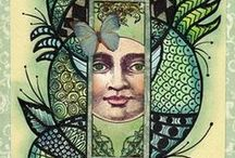 Coloring with Pencils & Markers / by Camile Mick