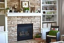 Fireplace Re-do / by Camile Mick