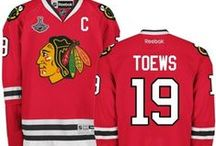 Jonathan Toews / Shop the Player Shop of your favorite Captain of the Chicago Blackhawks. / by Shop.NHL.com