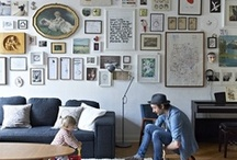Display: Gallery Walls / Creative and inspiring art arrangements! / by Artwork Network