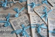 Paperîe  / old ✉ letters, papers, books and paper creations