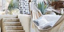 Bright home design / Lime walls + bright colors Funky furnishings + earthy textiles A bit boho