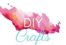 DIY Crafts / DIY craft ideas for home decor, art projects for kids of all ages, parties, weddings, and simply to foster creativity. Use glitter, paint, glue, upcycled materials, beads, stones, or whatever inspires you!