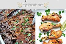 Family-Friendly Recipes / Healthy, easy and mostly 30 minutes or less family meal recipes and sides.
