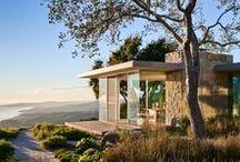 - ARCHITECTURES - / Houses, buildings, cottages, public spaces, shapes, details