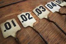 Take a № / vintage numbers -n- such ☆