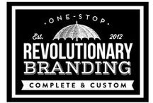 revѺlutionary branding | Revolutionary Branding / °l|♔|l° pandering a penchant for procuring perfectly peerless brands °l|♔|l° Graphic design, copywriting and brand consulting for creatives.  http://revolutionary-branding.com & http://melissabolton.com