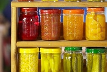 canning recipes/ freezer and food storage
