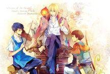 I'm a fan / Comic books, Anime, Manga, Movies, Books.... / by Jessica Alston