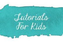 Tutorials - For Kids / Collection of sewing tutorials for kids