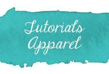 Tutorials - Apparel / Collection of sewing tutorials for apparel