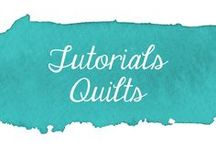 Tutorials - Quilts / Collection of quilt tutorials