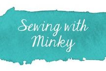 Sewing with Minky /  Tutorials for sewing with Minky fabric