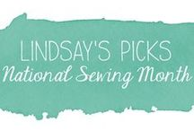 Lindsay's Picks -- National Sewing Month