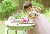 Little Girl Tea Party / Ideas for Pip's Birthday party