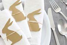 Décoration de table / Parce que pour bien manger, il faut aussi avoir une table bien décorée ! Pour Noël, pour un mariage ou simplement pour un repas sympa !