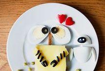 - Food Art - / Vous n'avez jamais entendu parler du Food Art ? Cette pratique utilise la nourriture comme matériau créatif, et le résultat est souvent bluffant mais surtout appétissant... C'est pourquoi nous vous avons concocté un panel d'oeuvres d'art à dévorer pas qu'avec les yeux ! / by Marmiton