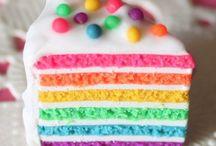 - Cooking a rainbow  - / Rien de tel qu'un arc-en-ciel pour enjoliver une journée ! Les couleurs, c'est la vie. Mettez du bonheur dans votre quotidien en cuisinant aux couleurs de l'arc-en-ciel. Petits et grands seront bluffés, comblés, amusés... bref, que du bonheur.  / by Marmiton