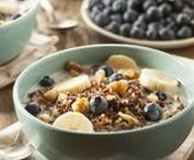 Petit-Déjeuner vitaminé / Pour attaquer la journée du bon pied, le secret est de commencer par un petit déjeuner riche en vitamines et...en plaisir !