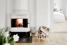 - FIREPLACES - / Mantels and fireplaces