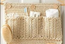 crochet   for Home / home stuff made of crochet