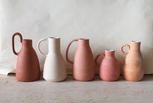 - POTTERIES & CERAMICS - / Ceramics, pieces of pottery, beautiful designs, talents